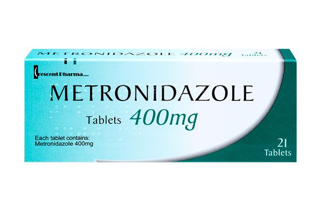 Метронидазол, фото