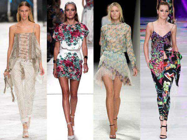 Растительная тематика в одежде