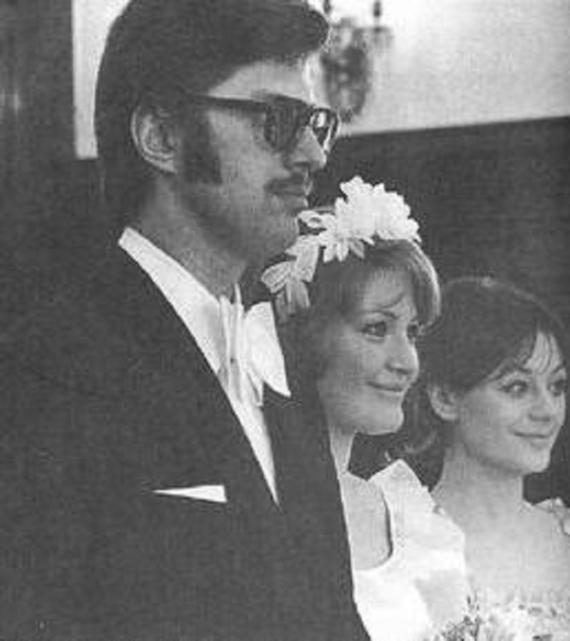 Свадебное фото: Регина и Лев Збарский