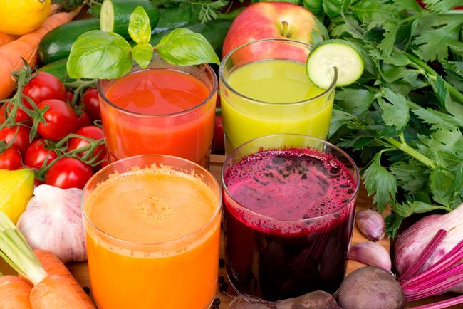 Сокотерапия помогает получать организму полезные вещества