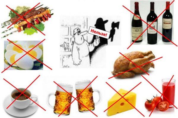 От каких продуктов следует отказаться
