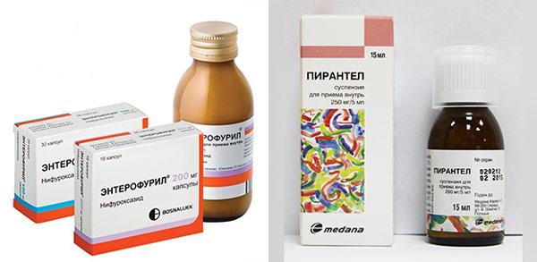 Препараты для лечения глистов