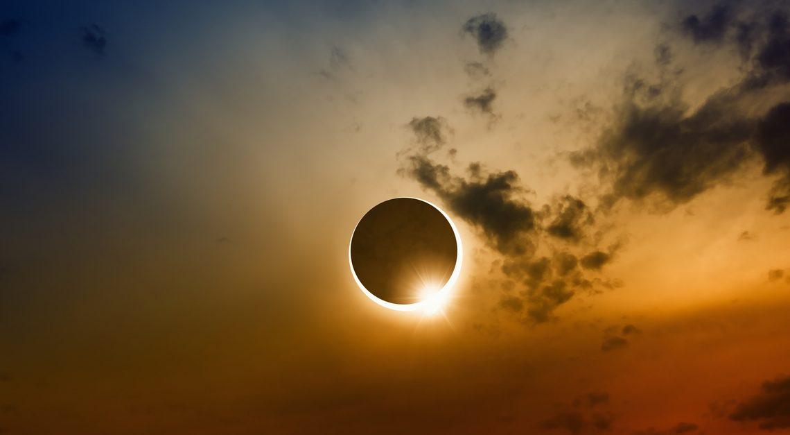 Солнечное затмение 15 февраля 2018: фото