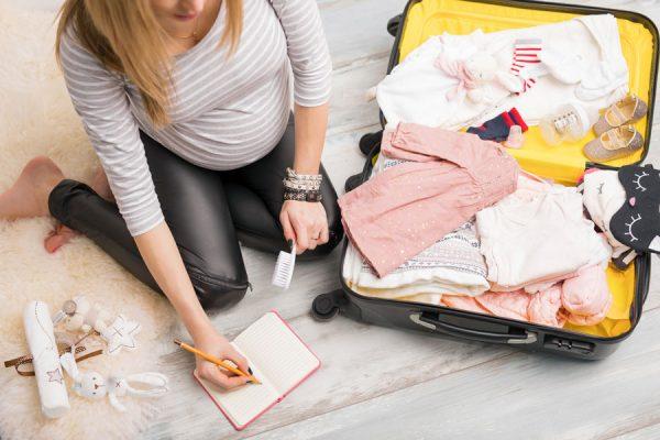 Составьте заранее список вещей, которые нужно взять с собой в роддом
