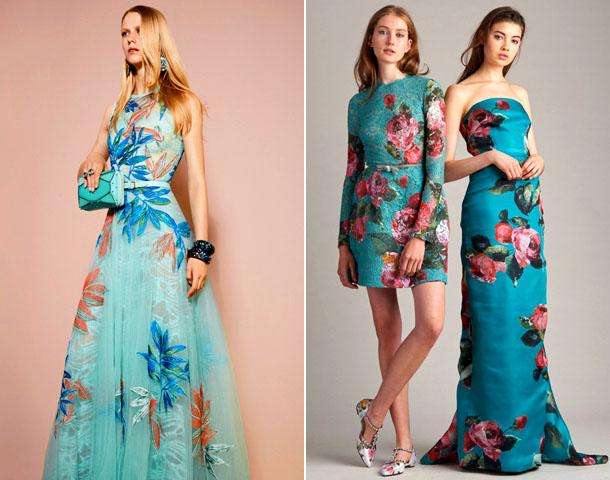 Модное цветочное изобилие