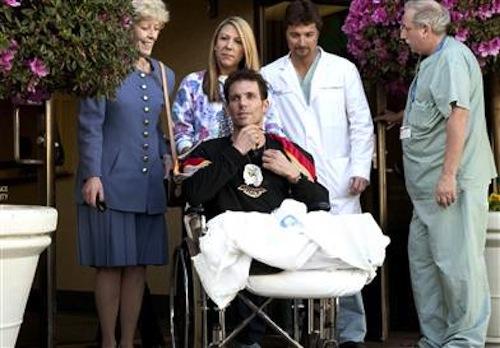 Эрик Лемарк после больницы