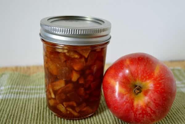 Варенье из яблок с добавлением соды