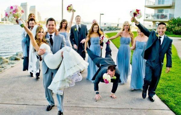 За выполненные задания жених может забрать невесту