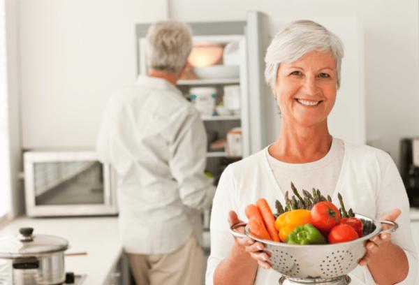 Нужно отказаться от острой, жирной и жареной пищи