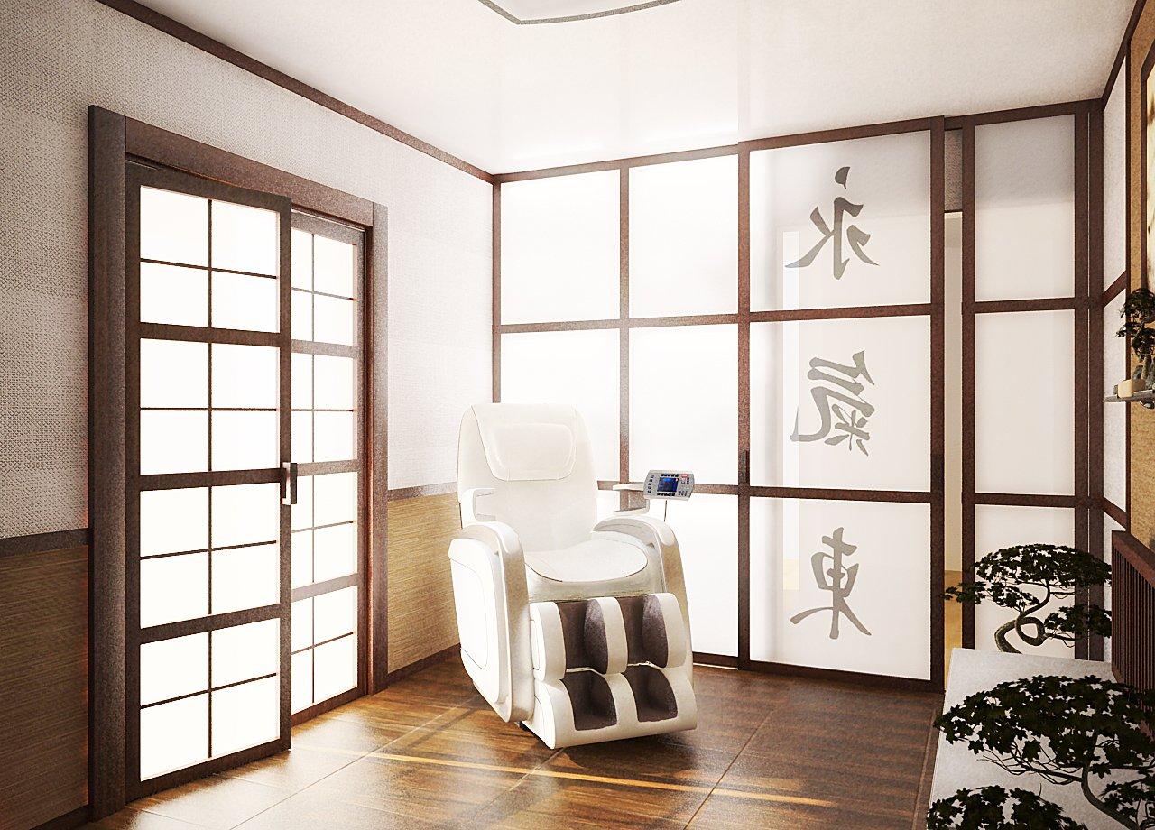 Прихожая в японской стиль