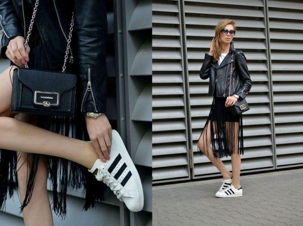 Модные кроссовки в классическом стиле
