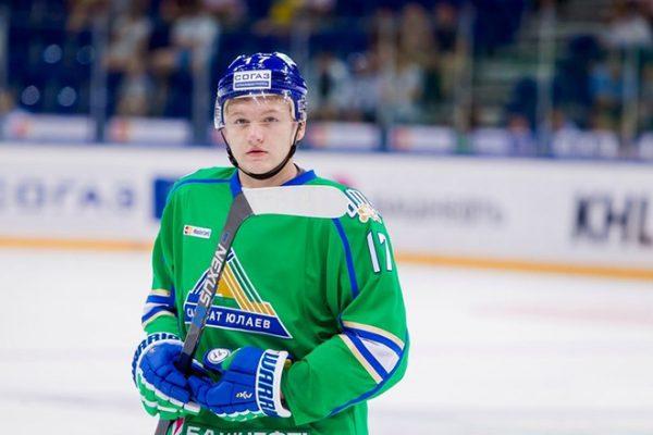 Кирилл Капризов выступал за хоккейный клуб «Салават Юлаев»