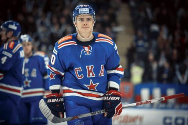Никита Гусев в клубе СКА
