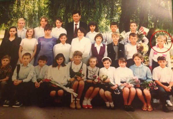 Школьные фото Романа Филипова