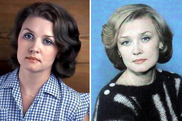 Известная актриса в начале карьеры