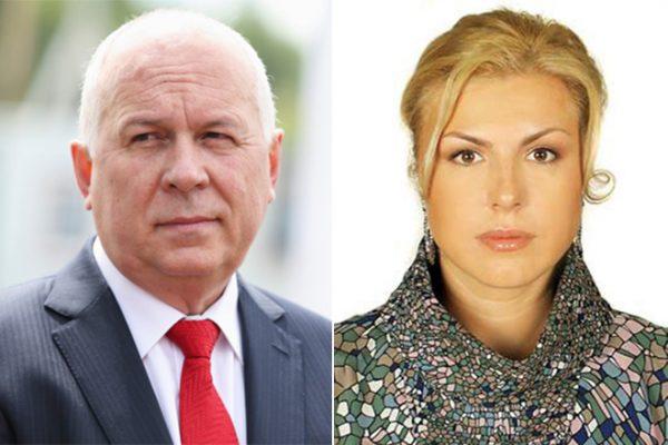 Сергей Чемезов и его жена Екатерина Игнатова