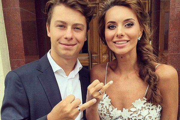 Никита Гусев с женой Мариной