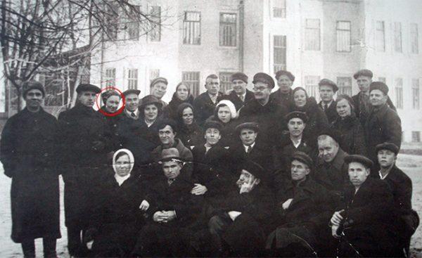Зоя Космодемьянская в санатории в Сокольниках