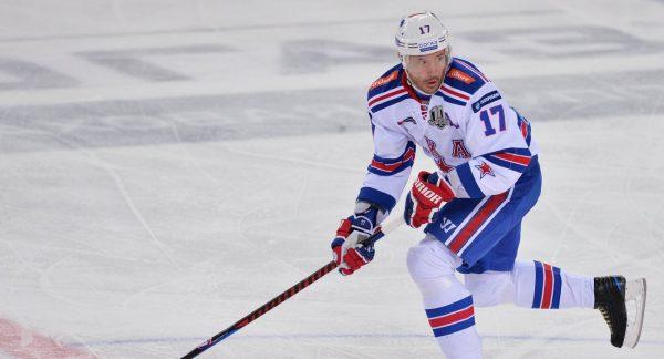Илья Ковальчук в составе питерского СКА
