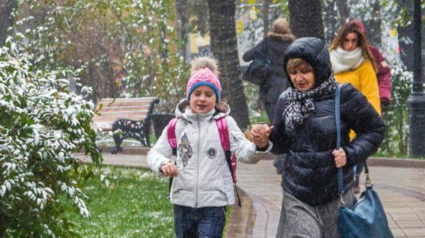 Весна придет в Москву с небольшим опозданием
