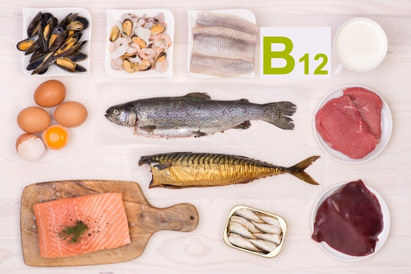 Витамин В12 в морепродуктах