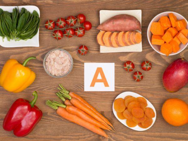 Содержание ретинола в продуктах питания