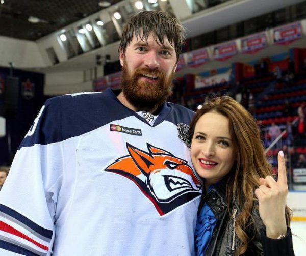 С женой Ириной Кожиной