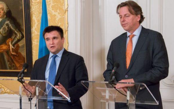 Павел Климкин ведет переговоры в Нидерландах