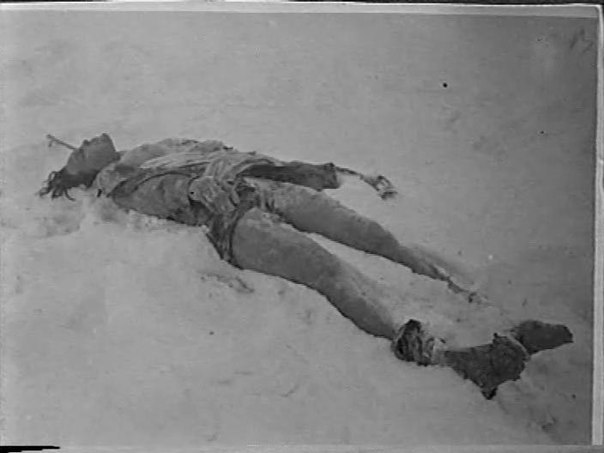 Истерзанное тело Космодемьянской