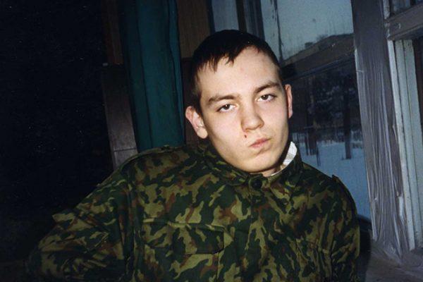 Эрик Кутаишвили на службе в армии