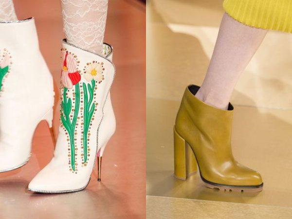 Модная обувь 2018