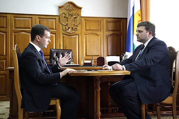 С Дмитрием Медведевым