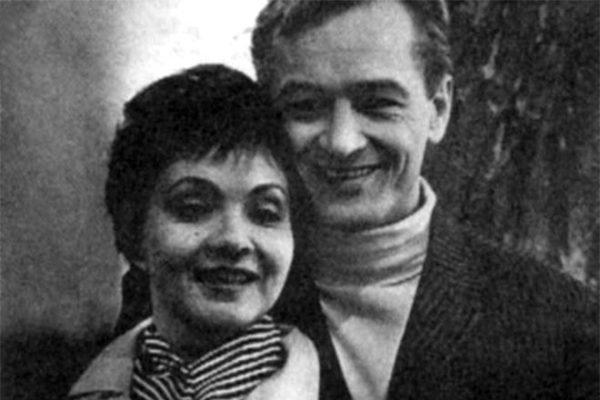 Михаил Ножкин и жена Лариса