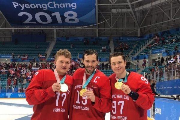 Известный хоккеист со своей командой стали победителями на Олимпийских играх в Пхенчхане