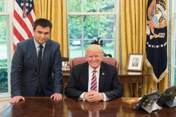 С Дональдом Трампом в Белом доме
