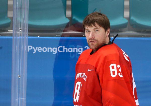 Хоккеист Василий Кошечкин