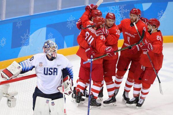 Российские хоккеисты на Олимпиаде 2018