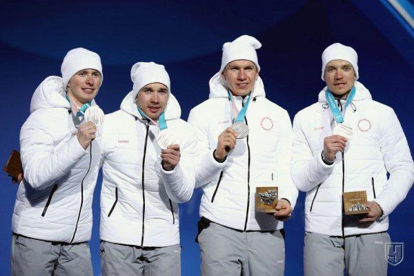 Российские лыжники получили серебряные медали