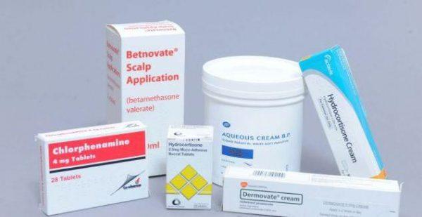 Препараты для лечения дерматита