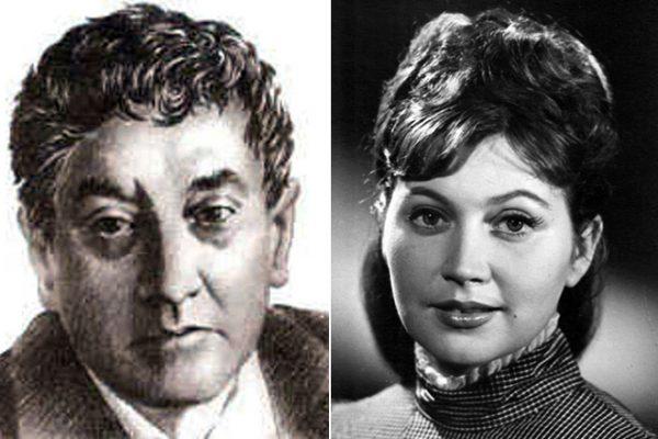 С женой Еленой Корниловой