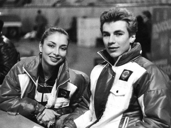 С первой женой Майей Усовой