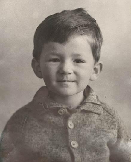 Борис Титов в детстве
