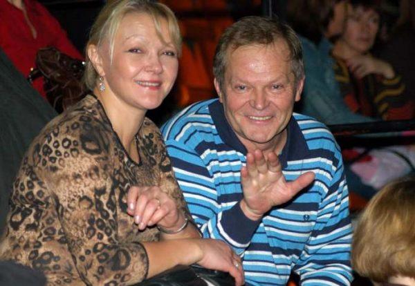 Марина Дюжева и Юрий Гейко