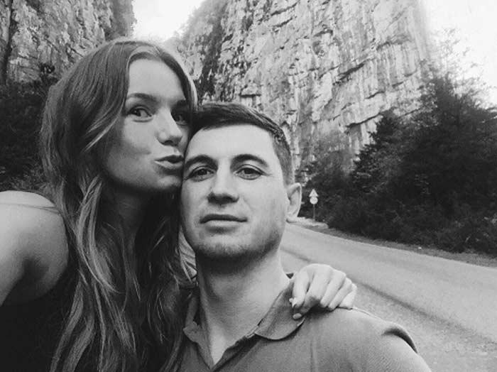 Полина Филоненко с мужем Андреем