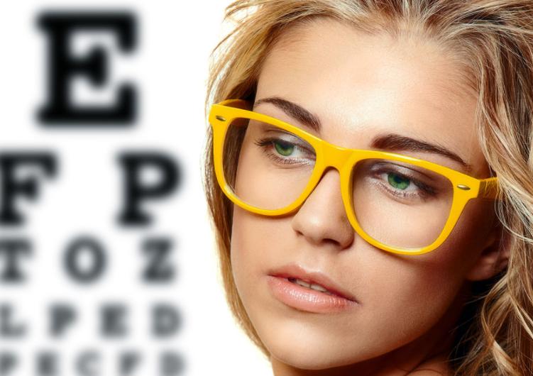 Стильные очки квадратной формы