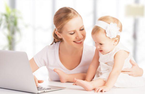 Можно совмещать работу и воспитание ребенка