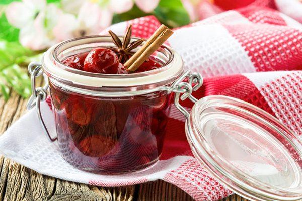 Ароматное вишневое варенье