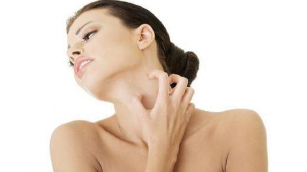 Высыпания на коже могут вызывать сильный зуд