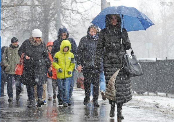 В начале марта синоптики прогнозируют снегопады
