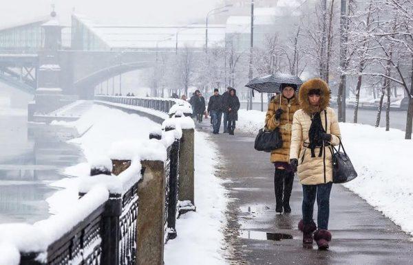 Какой будет погода в Москве в 2018